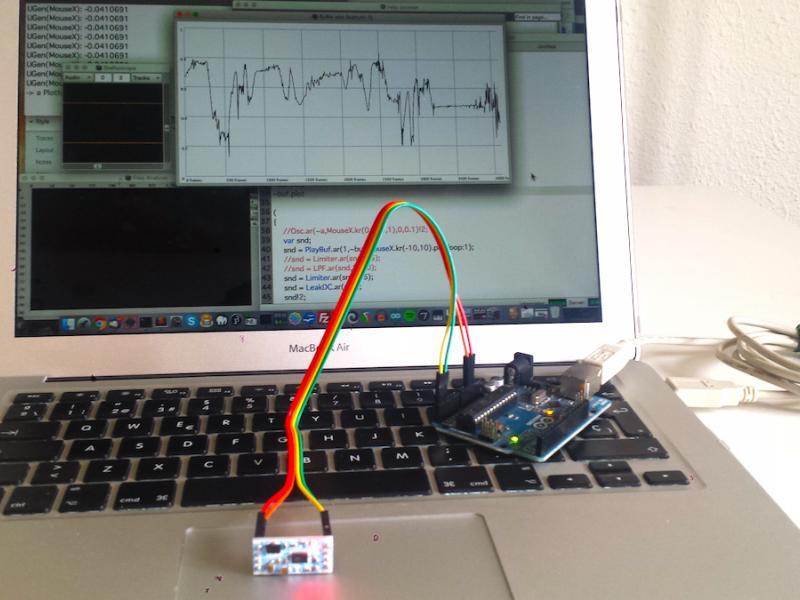 Accelerometer - Arduino