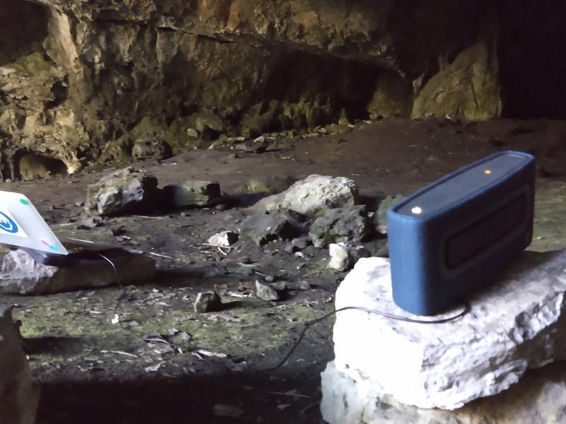Cova Cambra - Ports de Tortosa-Beseit. Altaveu portable